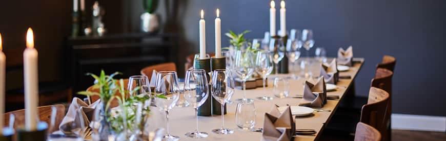 Fest- og selskaber på Restaurant Oven Vande Ved Volden i Fredericia