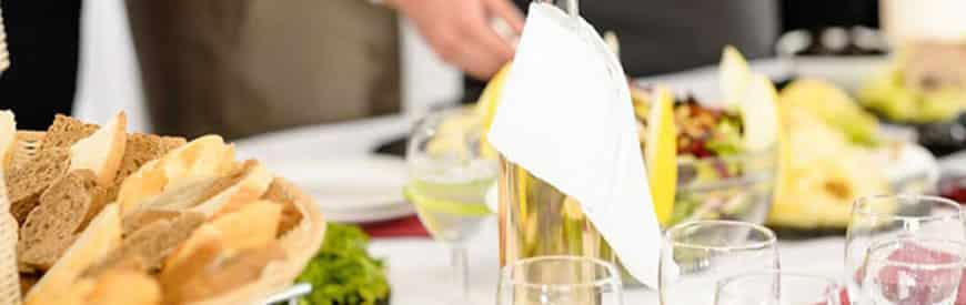 Luksus selskabsbuffet - Restaurant Oven Vande Ved Volden