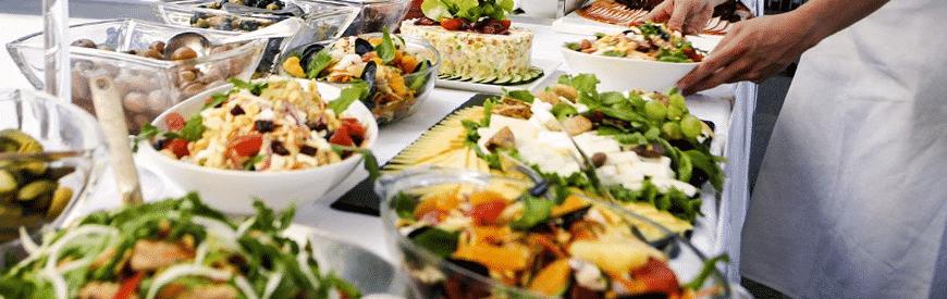 Fest- og selskabsbuffet hos Oven Vande Ved Volden